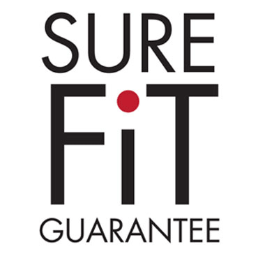 sure fit guarantee graphic